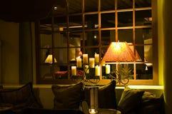 Quiet, sala de estar de relaxamento fotos de stock