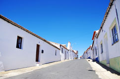Quiet street in Alentejo Stock Image