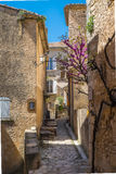 Quiet street, Banon Southern France Stock Photography