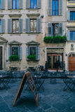 Quiet street in Italy. Royalty Free Stock Photo