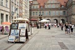 Quiet street life Stock Image