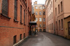 Quiet streets of St. Petersburg Royalty Free Stock Photography