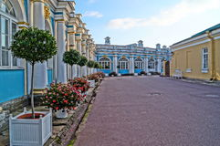 Quiet streets of St. Petersburg Royalty Free Stock Photos