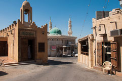 Quiet streets of Tarout Island, Saudi Arabia Royalty Free Stock Photos