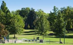 Free Quiet Urban Park Stock Image - 21551381