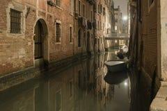 Quiet Venetian night stock images