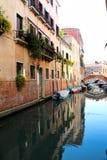 Quiet Venice Canal Royalty Free Stock Photos