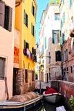 Quiet Venice Canal Stock Photos