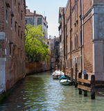 Quiet Venice Canal Royalty Free Stock Photography