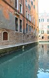 Quiet Venice Canal Stock Images