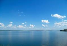 Quiet water of lake Stock Image