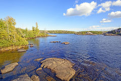 Quiet Waters in Canoe Country Royalty Free Stock Images