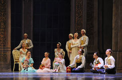 Quietly enjoy the dance of the audience-The Ballet  Nutcracker Stock Images
