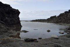 Quieto pouca angra, Tenerife imagens de stock
