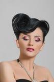 Quiff de coiffure Images stock