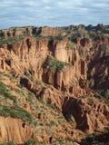Quijadas van de canion las in Sanluis (Argentinië) Stock Afbeeldingen