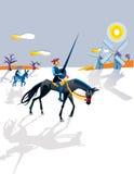 Quijote stock de ilustración