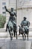 Quijote en sancho 2 Royalty-vrije Stock Afbeeldingen