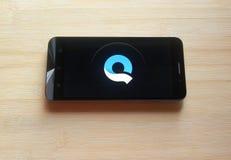 Quik app στοκ φωτογραφίες