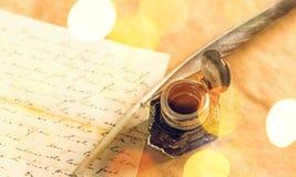 Quill Pen Imagens de Stock Royalty Free