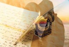 Quill Pen Imagem de Stock