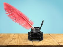Quill Pen Royalty Free Stock Image