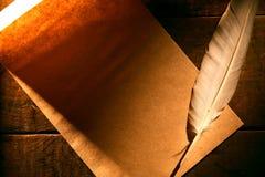 Quill And Scroll fotografía de archivo libre de regalías