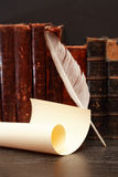 Quill And Scroll imágenes de archivo libres de regalías