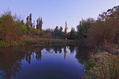 Quillem rzeka 2019 fotografia stock