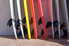 Quilles de panneau de vague déferlante Photographie stock