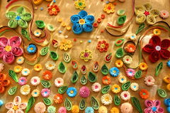 Quilling Royalty Free Stock Images