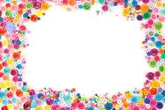 Quilling de papier, cercles de papier colorés Photo stock