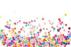 Quilling de papier, cercles de papier colorés Image stock