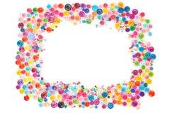 Quilling de papier, cercles de papier colorés Photos libres de droits