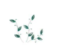 Quilling de papier, fleurs de papier colorées illustration stock
