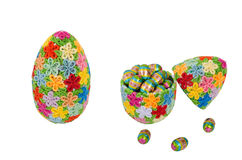 Quilling easter eggs Royalty Free Stock Photos