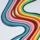 Quilling paper background Stock Image