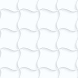 Quilling paper pillow grid Stock Images