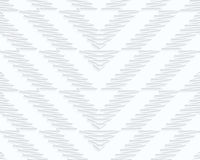 Quilling paper scribbled chevron Stock Photography