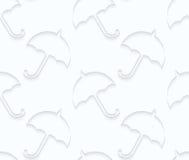 Quilling paper umbrellas Stock Image