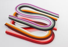 Quilling papers Stock Photography
