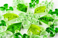Quilling pattern Royalty Free Stock Images