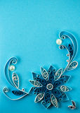 Quilling pattern Royalty Free Stock Photo