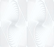 Quilling white paper swirled offset diamonds Stock Photos
