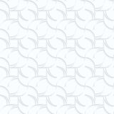 Quilling white paper twisted diamonds with stripes Stock Image