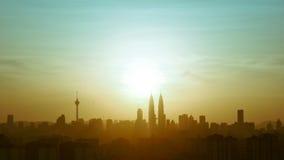 Quilolitro da skyline fotografia de stock