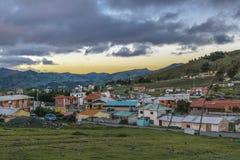 Quilotoa miasteczko, Latacunga, Ekwador Obrazy Royalty Free