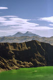 Quilotoa See lizenzfreies stockbild
