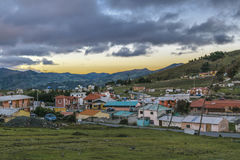 Quilotoa-Stadt, Latacunga, Ecuador Lizenzfreie Stockbilder