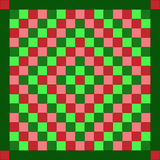 quilt рождества Стоковые Изображения